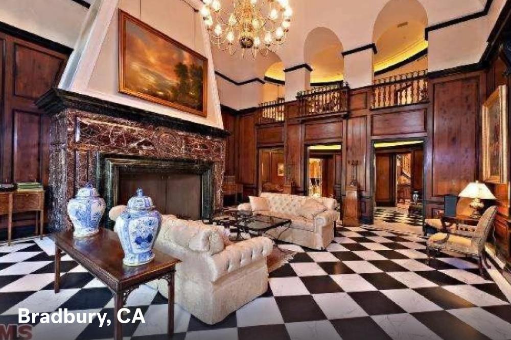Fireplace designs Bradbury