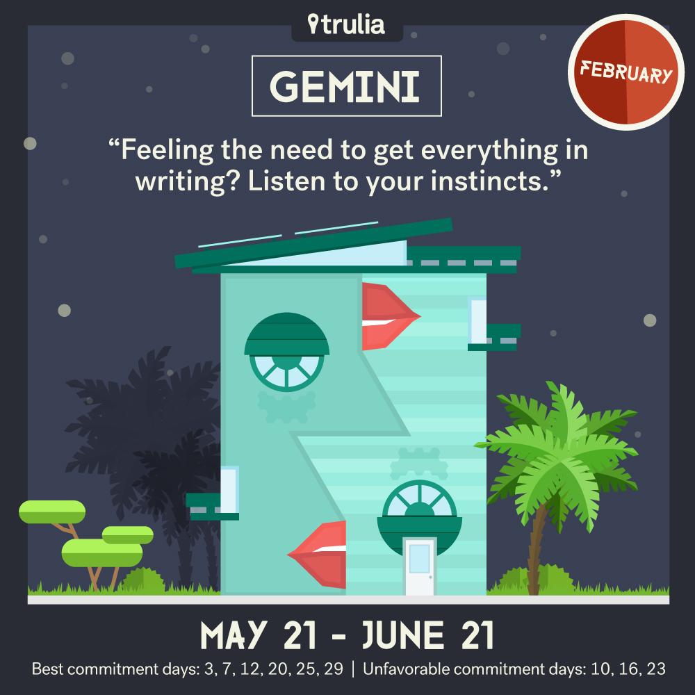 February Horoscope Gemini