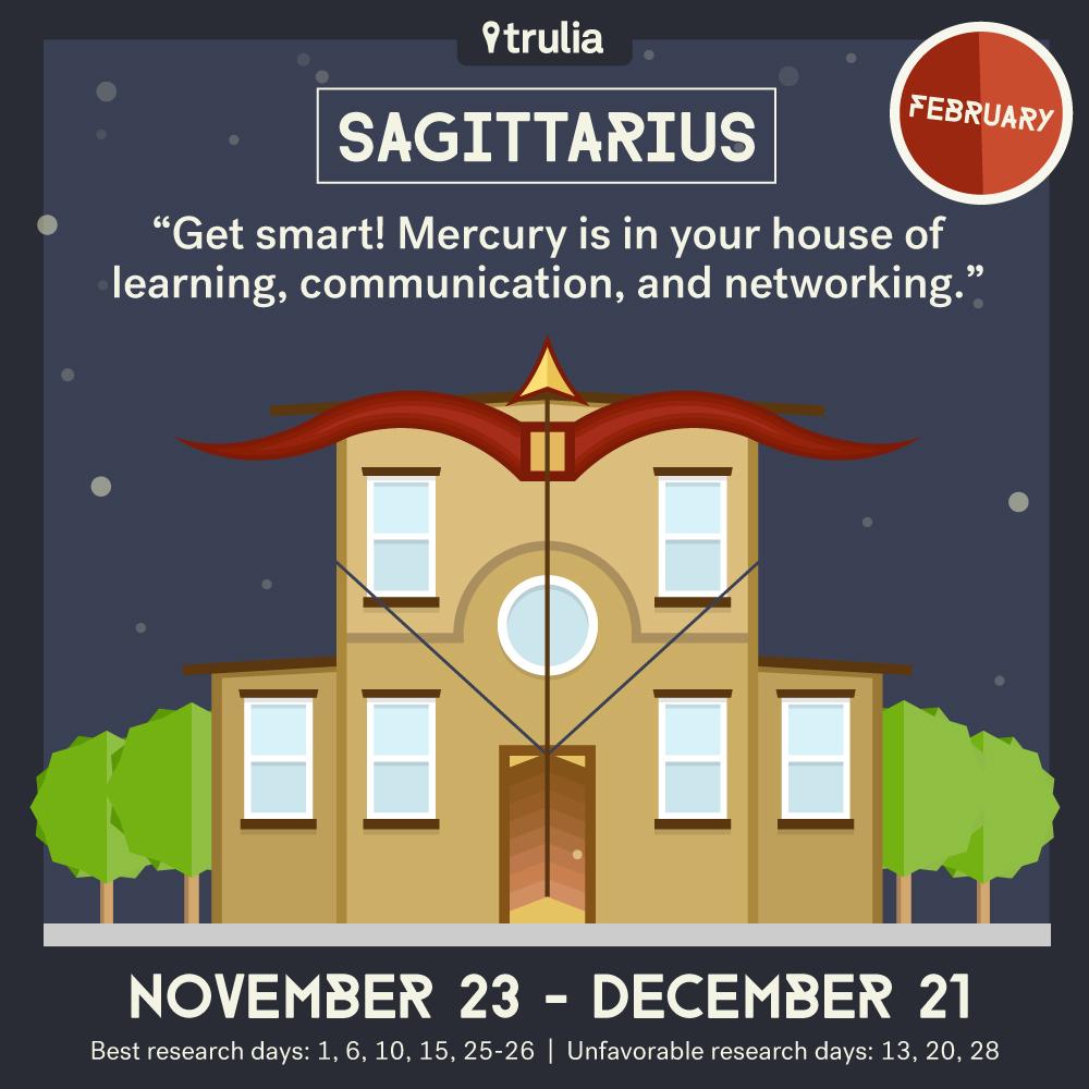 February Horoscope Sagittarius
