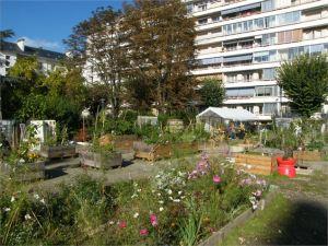 Fête du printemps au jardin du Paradis, à Chambéry, dimanche 29 avril 2018