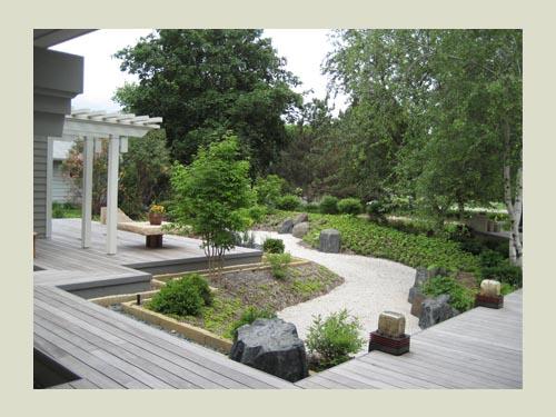 Dry Garden Ideas Japanese Dry Garden Design Dry River Bed Garden