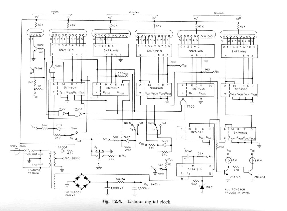 medium resolution of here s the ti ttl designer s handbook clock schematic diagram