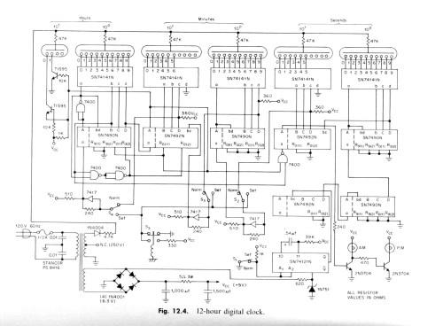 small resolution of here s the ti ttl designer s handbook clock schematic diagram