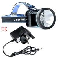 3000Lm Waterproof LED Headlight Rechargeable Camping ...