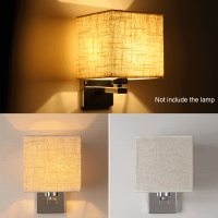 LED Cloth Wall Lamp Sconce Light for Hotel Reading Bedroom ...