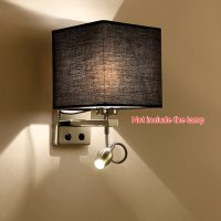 Modern LED Cloth Wall Lamp Wall Sconce Light Hallway ...