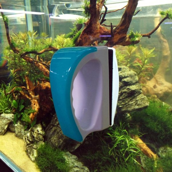 Magnetic Floating Fish Tank Glass Window Double Side