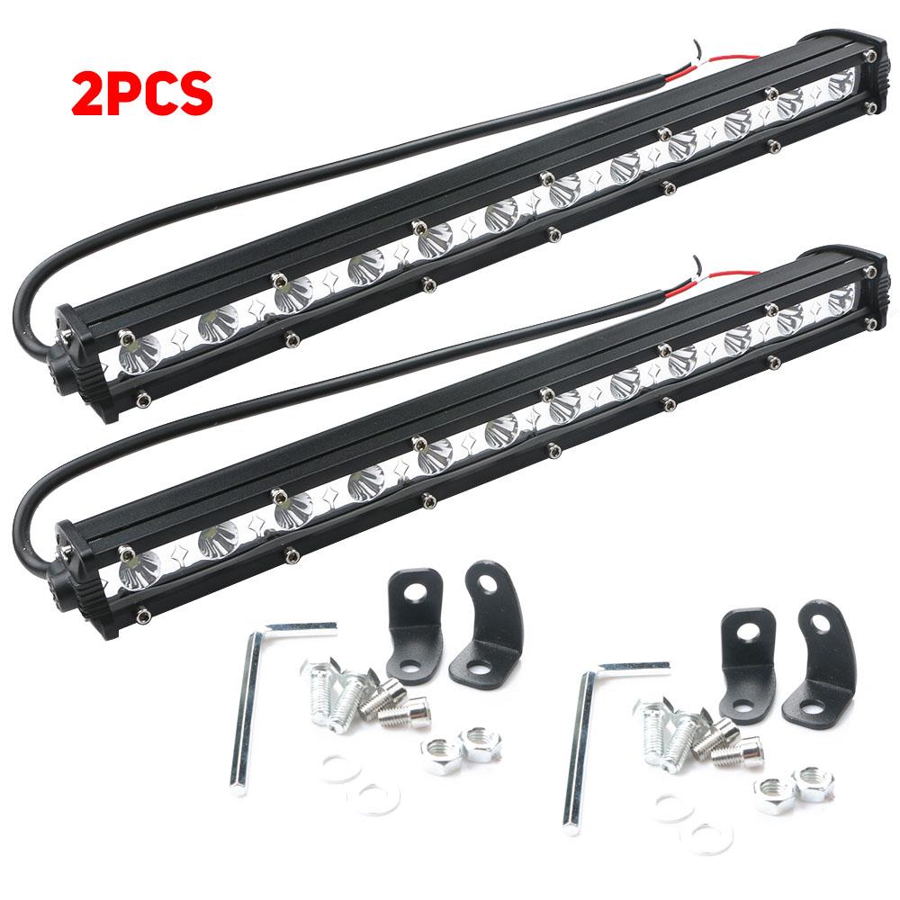 36W White LED Spot Light Bar Car Spotlight Off-road Work