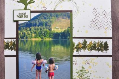Niya Scrap - Page Scrap - Blog Hop des Sweet Ladybirds - Matériel Stampin' Up!