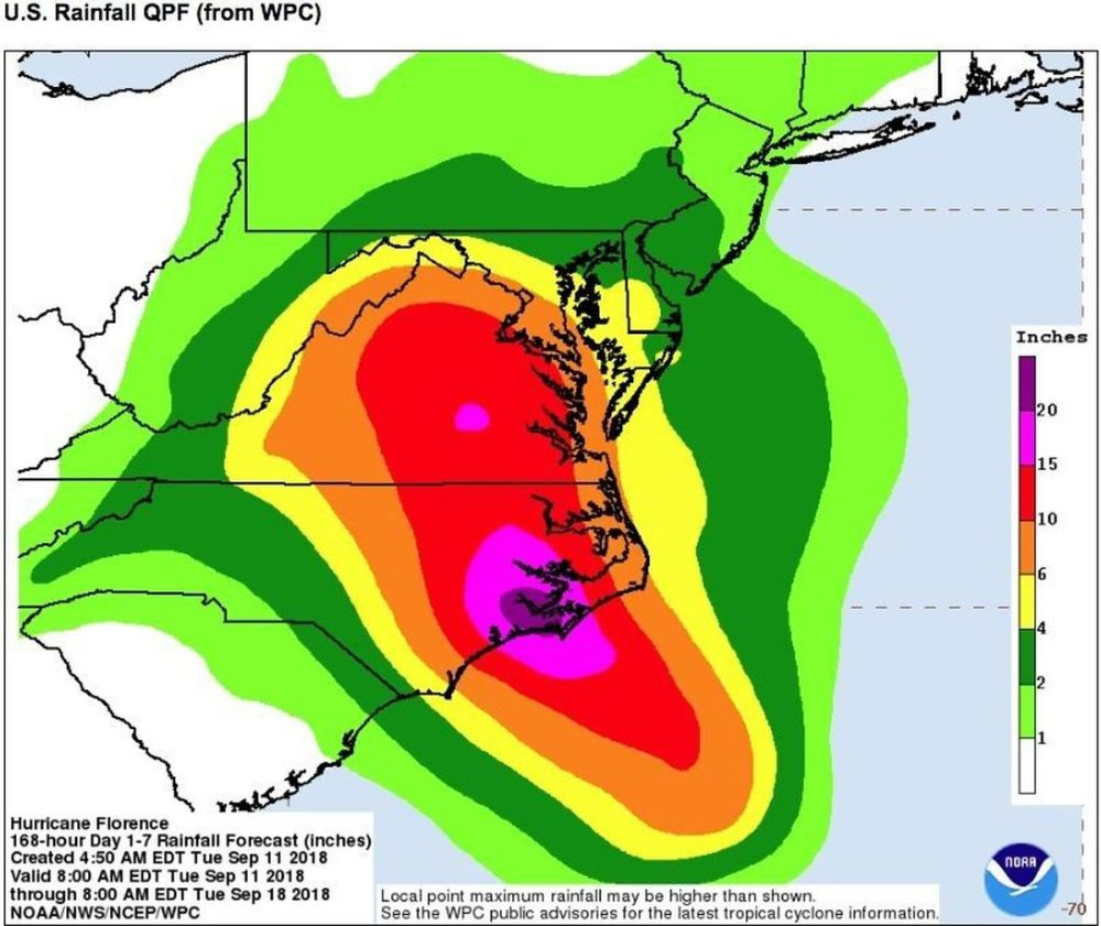 medium resolution of is hurricane florence going to hit n j why it s still going to be miserable even if it misses nj com