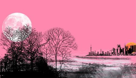 The pink moon will rise in April