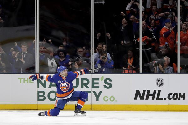 The New York Islanders host the Pittsburgh Penguins in game two of their 2019 Stanley Cup Playoffs first round series on Friday. (AP Photo   Julio Cortez)