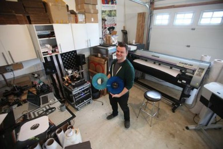 How a N.J. man is revolutionizing the music industry, one vinyl at a time -  nj.com