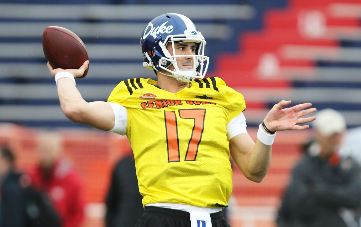 Now, just three weeks from the start of training camp, jones has returned to duke university where he's connected with head coach david. NFL Draft 2019: Grading Duke's Daniel Jones on ties to ...