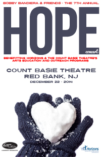 The Count Basie Theatre in Red Bank has scheduled the seventh Hope Concert for Dec. 22.