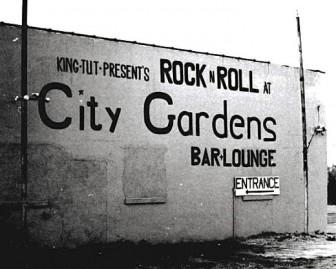 The rather non-exotic exterior of the Trenton nightclub, City Gardens.