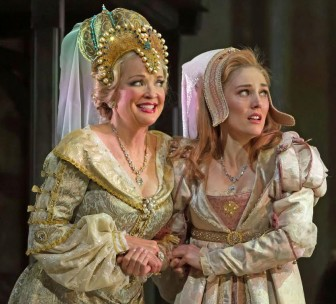 """Christine Ebersole, left, and Mara Davi co-star in """"Ever After."""""""