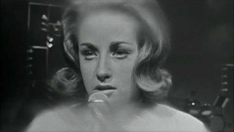 "Lesley Gore, performing on ""The T.A.M.I Show"" in October 1964."