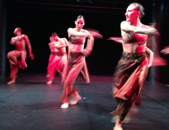"The Nai-Ni Chen Dance Company in ""Whirlwind I."""