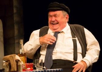 "David Schramm plays a retired Irish farmer in ""Outside Mullingar."""