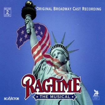 "The cover of the original Broadway cast recording of ""Ragtime."""