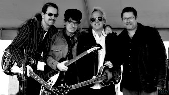 The Weeklings (from left,