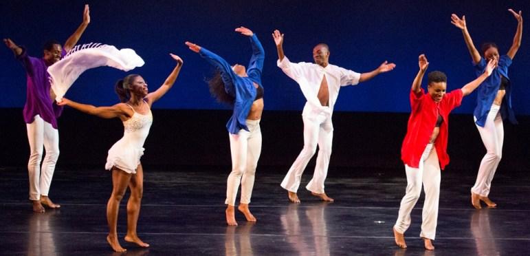 "Members of Lula Washington Dance Theatre in """