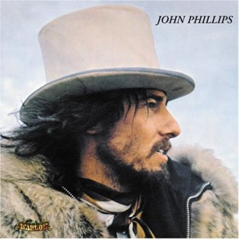 "The cover of the 1970 album ""John Phillips (John, the Wolf King of L.A.)."""