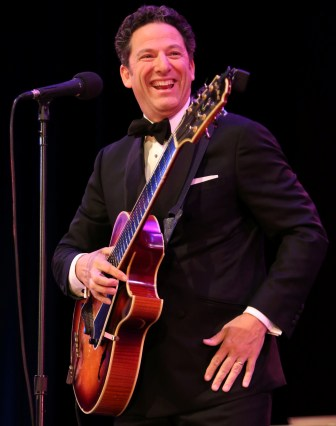 "John Pizzarelli performs Johnny Mercer songs on his new album, ""John Pizzarelli Salutes Johnny Mercer: Live at Birdland,"" and on the NJTV series, ""American Songbook at NJPAC."""