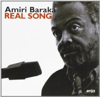"The cover of an Amiri Baraka album, ""Real Song."""