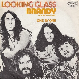 The cover of Looking Glass'