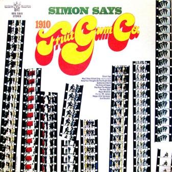 "The cover of 1910 Fruitgum Co.'s debut album, ""Simon Says."""