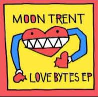 """The cover of Moon Trent's """"Love Bytes"""" EP."""