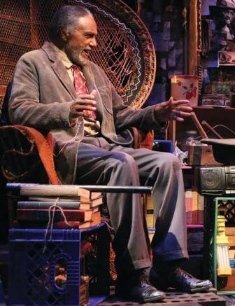 "Charles Weldon plays Zebedee in ""Your Blues Ain't Sweet Like Mine."""
