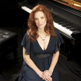 Robin Spielberg performs at the South Orange Performing Arts Center, April 11.
