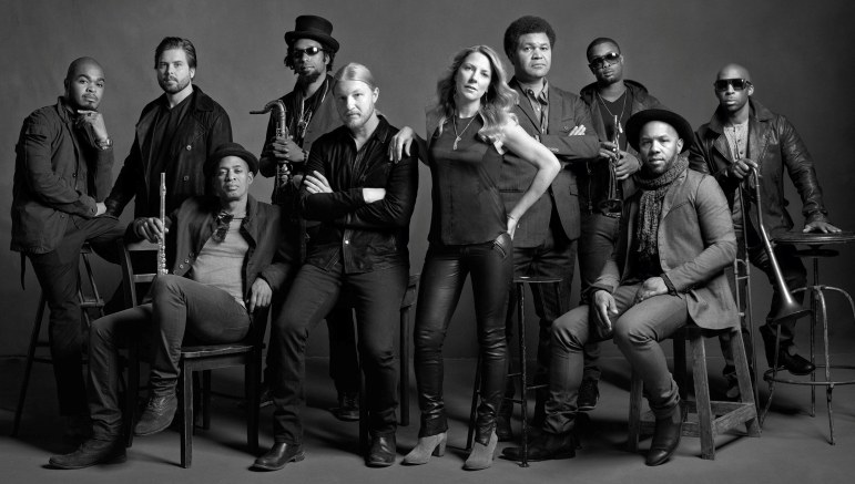 The Tedeschi Trucks Band performs at the QuickChek New Jersey Festival of Ballooning, July 26.