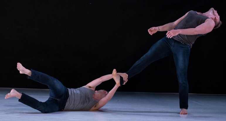 """Covariance,"" by , was one of the dances performed by 10 Hairy Leg in New York June 10-14."