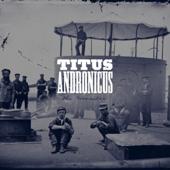 "The cover of the Titus Andronicus album, ""The Monitor."""