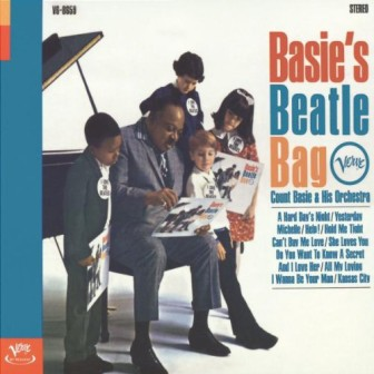 """The cover of Count Basie album, """"Basie's Beatle Bag."""""""