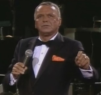 """Frank Sinatra sings """"The House I Live In"""" at The Concert for the Americas in 1982."""