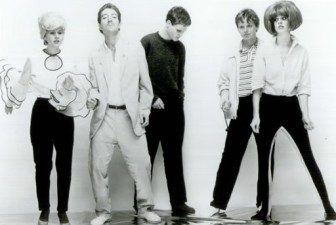 The B-52's in a 1979 publicity photo.