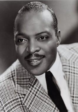 Count Basie, in a vintage publicity shot.