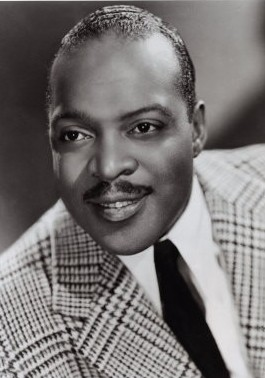 Count Basie, in a vintage publicity shot.