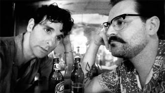 Adam Weiner, left, and Dan Finnemore of Low Cut Connie.