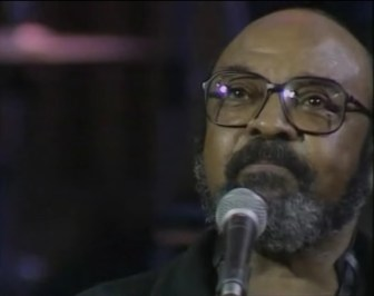 """James Moody, during a performance of """"Moody's Mood for Love,"""" in 1989."""