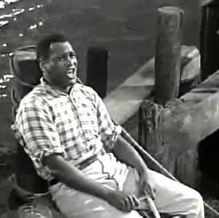 "Paul Robeson in ""Show Boat."""