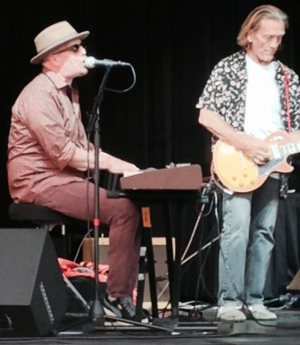 Jeff Kazee and G.E. Smith in Fort Lee.