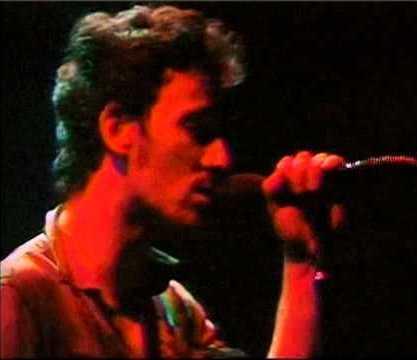 """Bruce Springsteen sings """"Racing in the Street"""" in Houston in 1978,"""