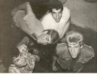 Adrenaline O.D. (from left, Paul Richard, Jim Foster, Dave Scott and Jack Steeples) in a vintage publicity photo.