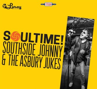 "The cover of Southside Johnny's album, ""Soultime!"""